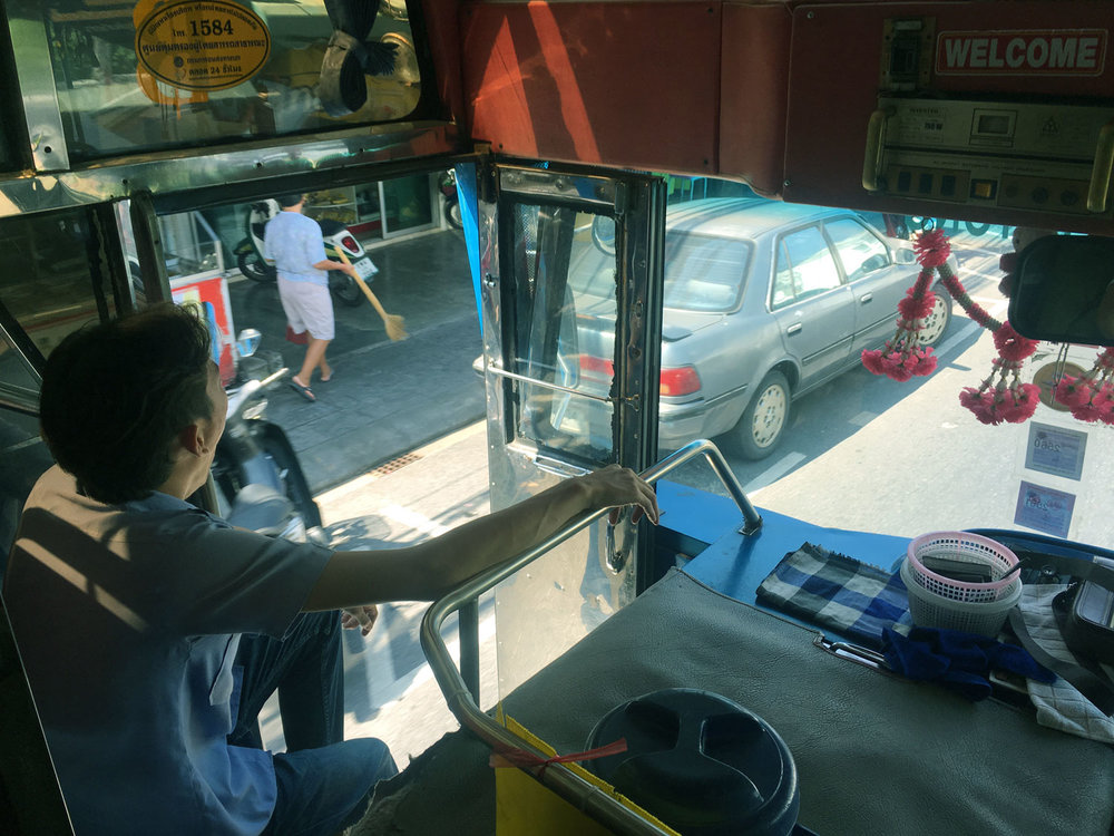 Catch a Local Bus around Phuket for 30 - 40 baht