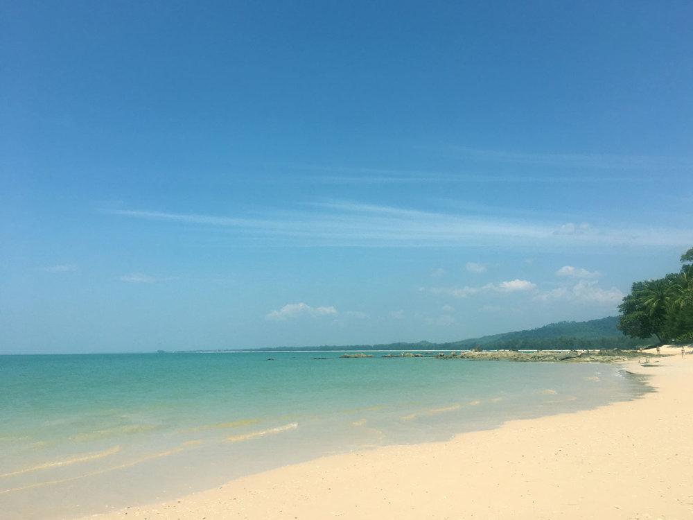Ao Thong Beach paradise on Koh Lak