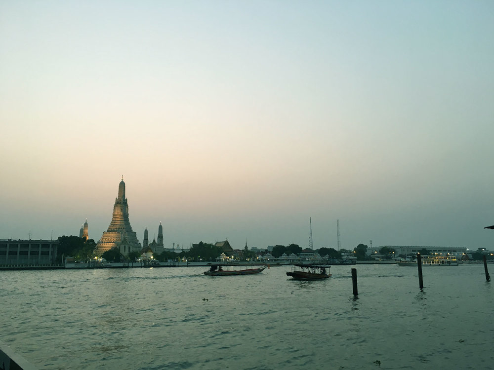 Wat Arun Buddhist temple in Bangkok