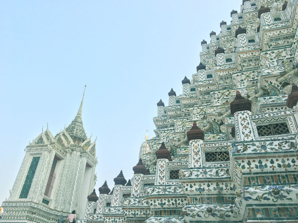 Architecture and details from Wat Arun Buddhist Temple