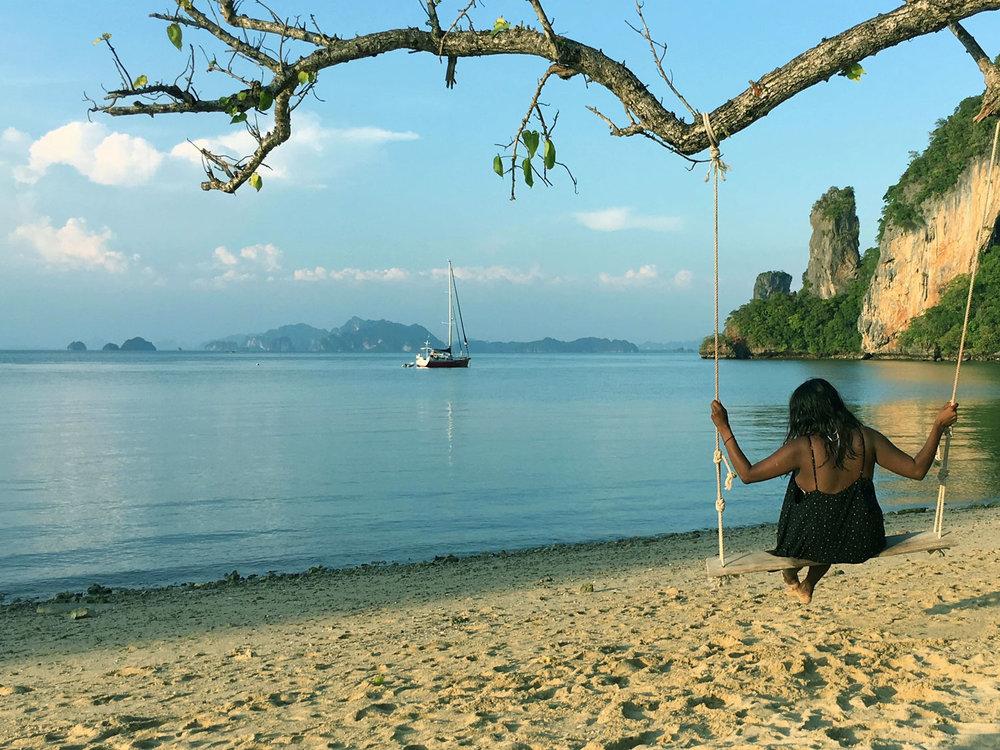 Sunset Island Boat Tour visiting the Islands off Krabi and Ao Nang