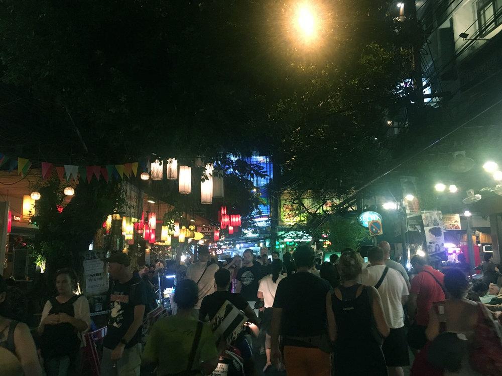 Khaosan Road Backpacker central
