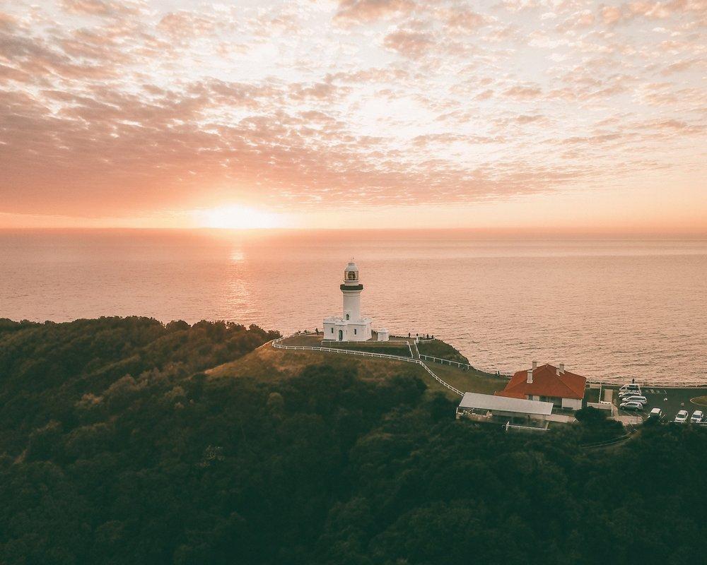 Byron Lighthouse Sunrise - Saxon Kent
