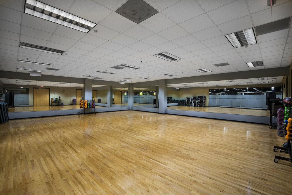 Open access yoga/class room