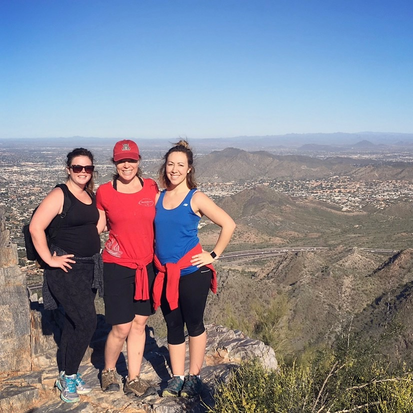 Starting Spring of right by hiking with the girls.