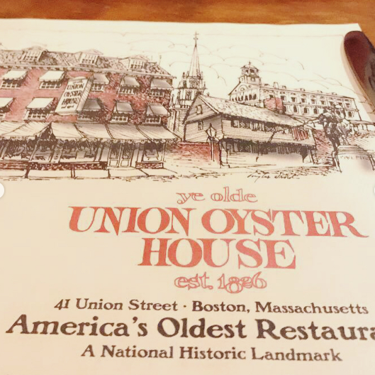 union oyster house boston oldest restaurant