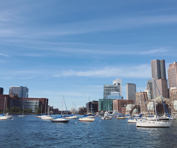 boston skyline harbor cruise