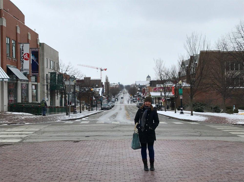 downtown bloomington indiana