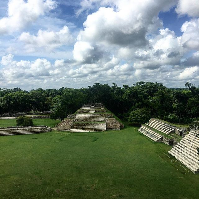 Altun Ha Mayan Ruins 📍 #belize #altunha #mayanruins #sungod #jade #history #travel #views #vacation #tflers #photooftheday