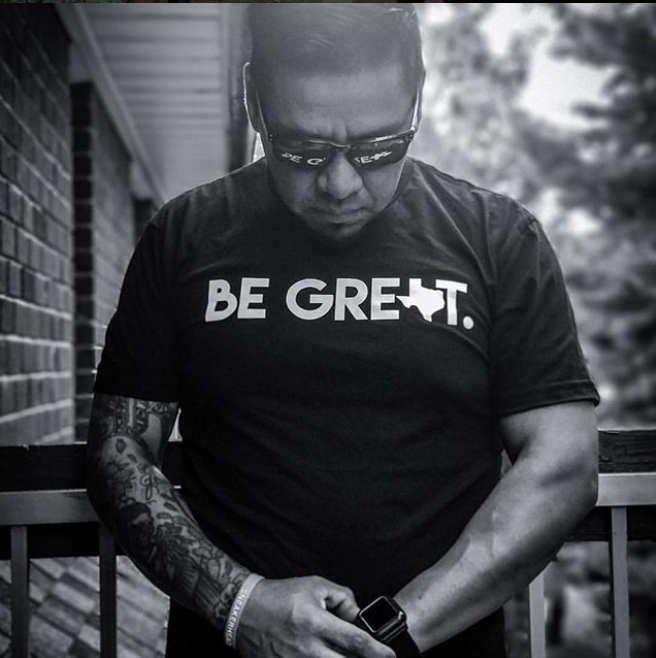 #BeGreat Gear supports Hurricane Harvey victims by selling Be Great Texas shirts. Click here to learn more.