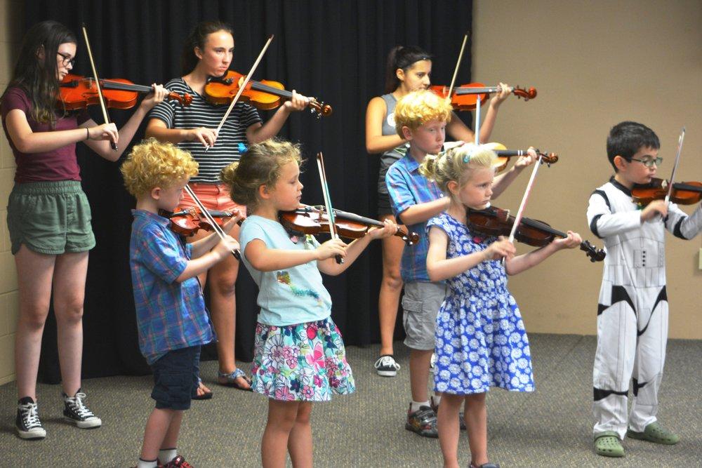 Suzuki Niagara Violin Group Class