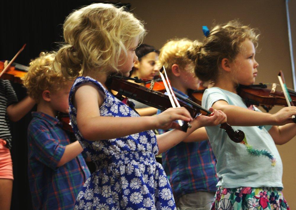 Suzuki Niagara Violin Recital
