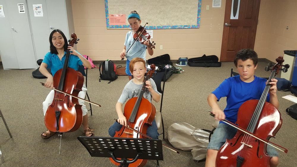 Suzuki Niagara Group Class Cello