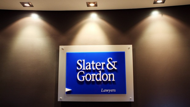 Slater & Gordon is now valued at $80 million, a fraction of its $2.75 billion value a year ago. Photo: Jessica Shapiro