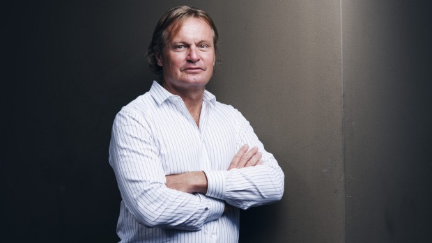 Sydney investor Peter Morgan. Photo: James Brickwood