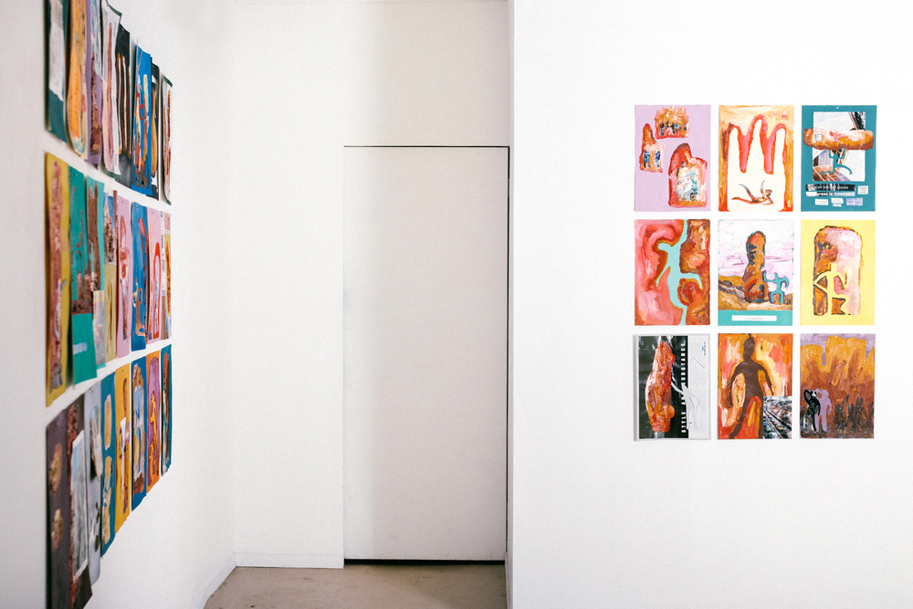 Installation view  Out of Place, Out of Touch   May 25th - June 11th, 2016   Rubicon ARI, Level 1/309 Queensberry Street, North Melbourne, Victoria, Australia