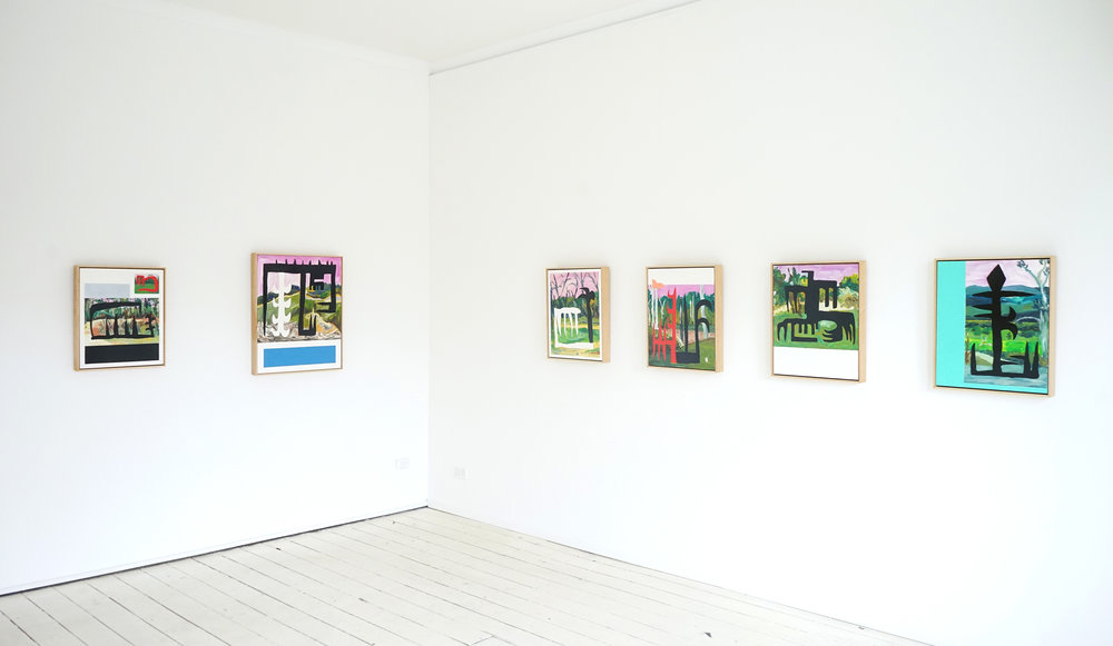 Installation view  Discover Gippsland!   January 26th - February 10th, 2017   Seventh Gallery, 155 Gertrude Street, Fitzroy, Victoria, 3065  Australia