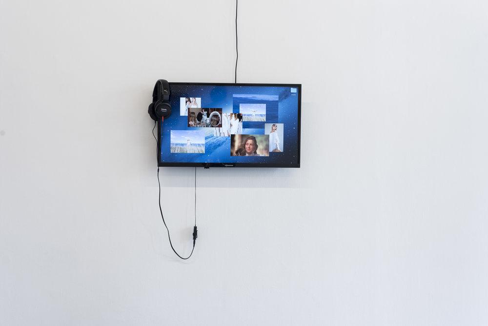 Neika Lehman  Body-orient: settler slut in nature   Digital video, 1:30 min  2017  Photo by Aaron Claringbold