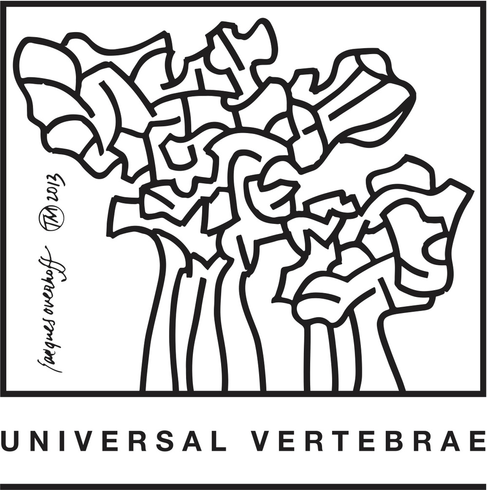 Universal Vertebrae Logo (with or without year is optional)