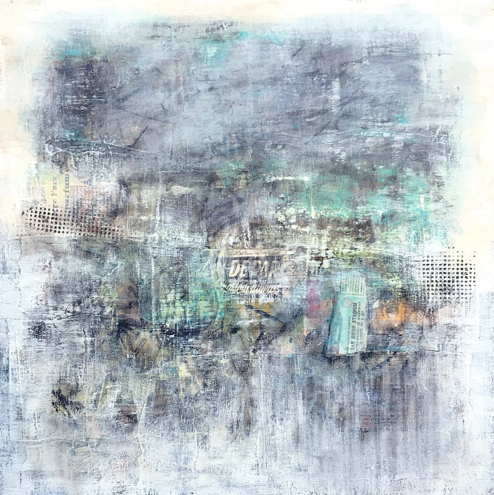 One Rainy Night - SOLD  Contact Artist to create a similar custom piece