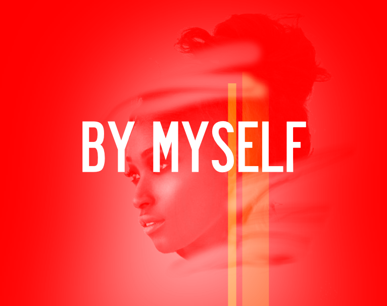 "Sample Cover ""By Myself"" by Natasha Asanté"