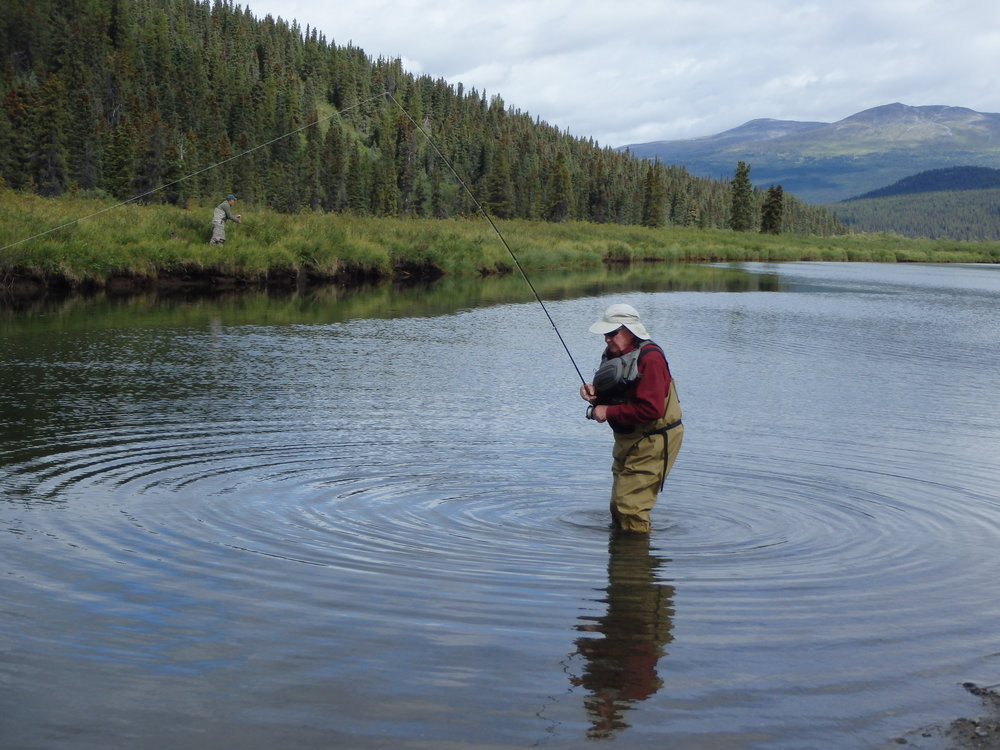 Fly Fishing in the serenity of the Northern Rockies