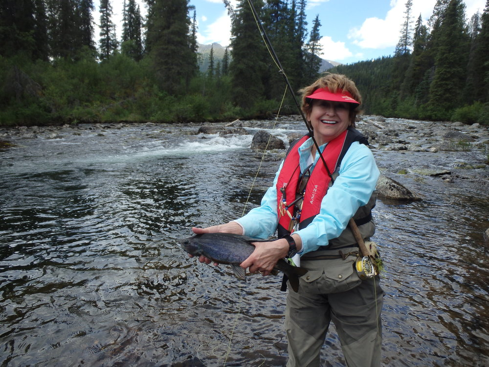 Catching Arctic Grayling