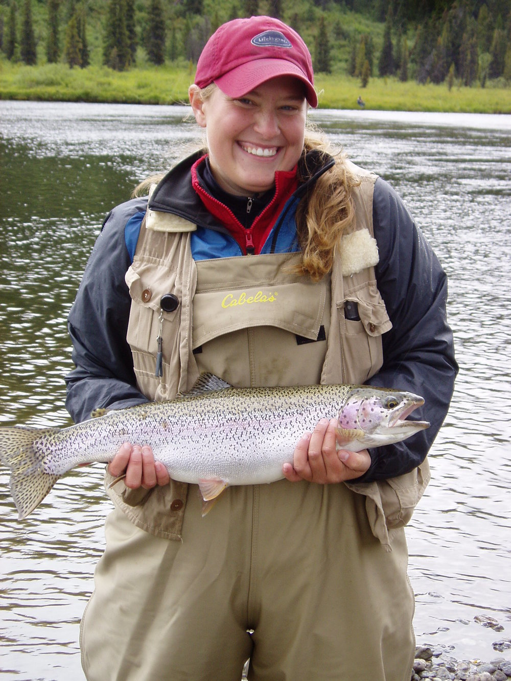 Rainbow Trout and big smiles