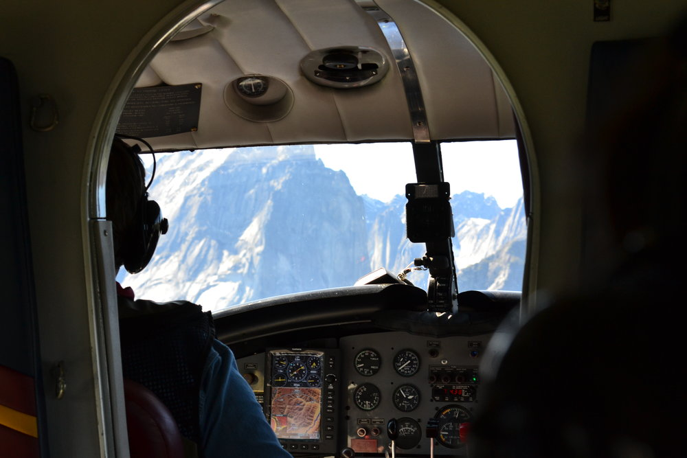pilot over nahanni