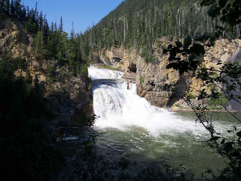Smith River Falls, Smith River/Fort Halkett Park