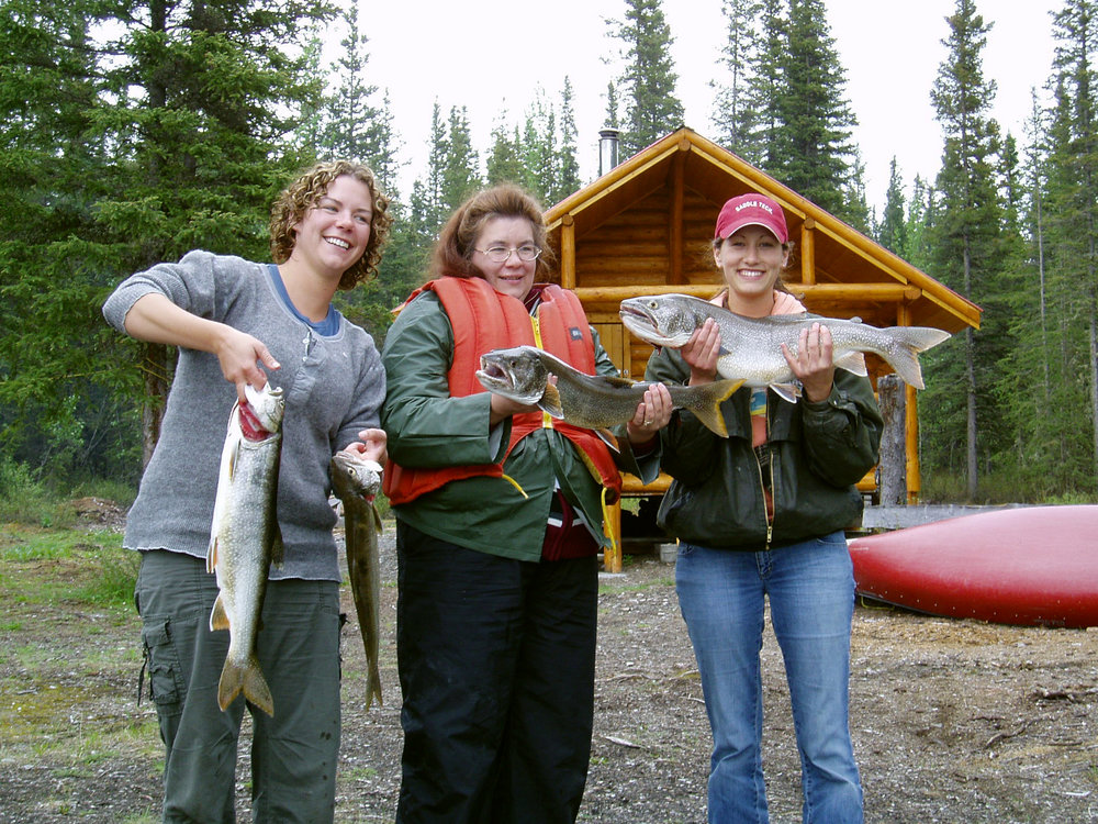 Lake trout caught at Netson lake