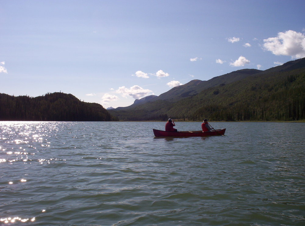 Karl and Marianne canoeing.JPG