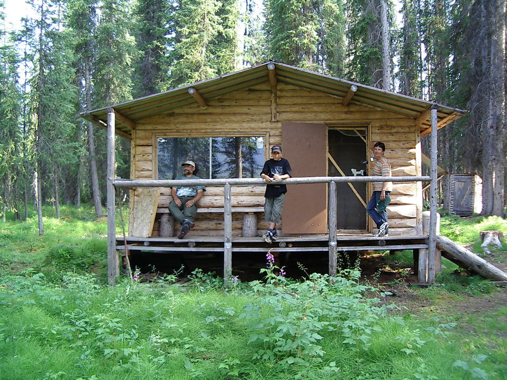 Marianne and Franz Keller at Gataga cabin.JPG