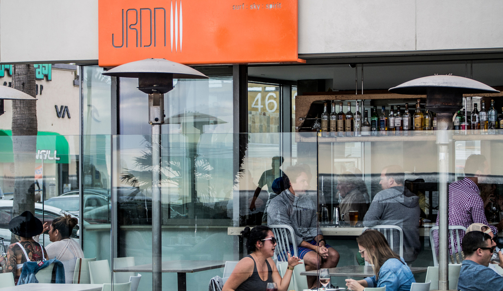 JRDN Restaurant on the boardwalk, Pacific Beach