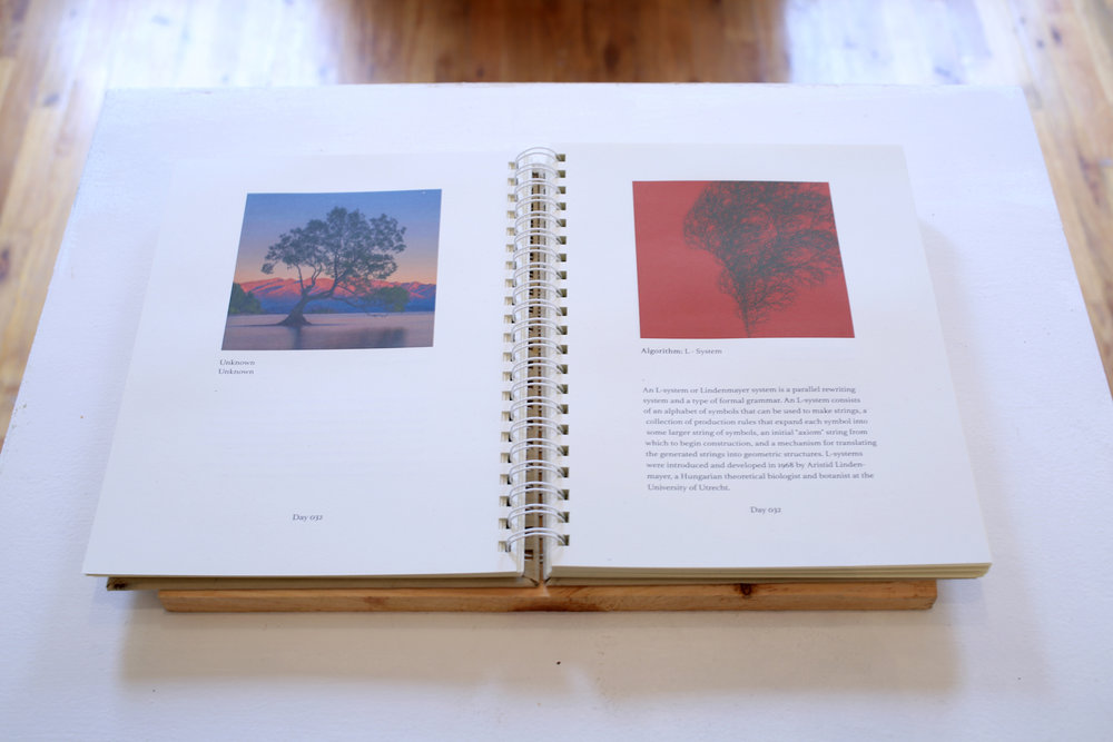 Installation View of The book