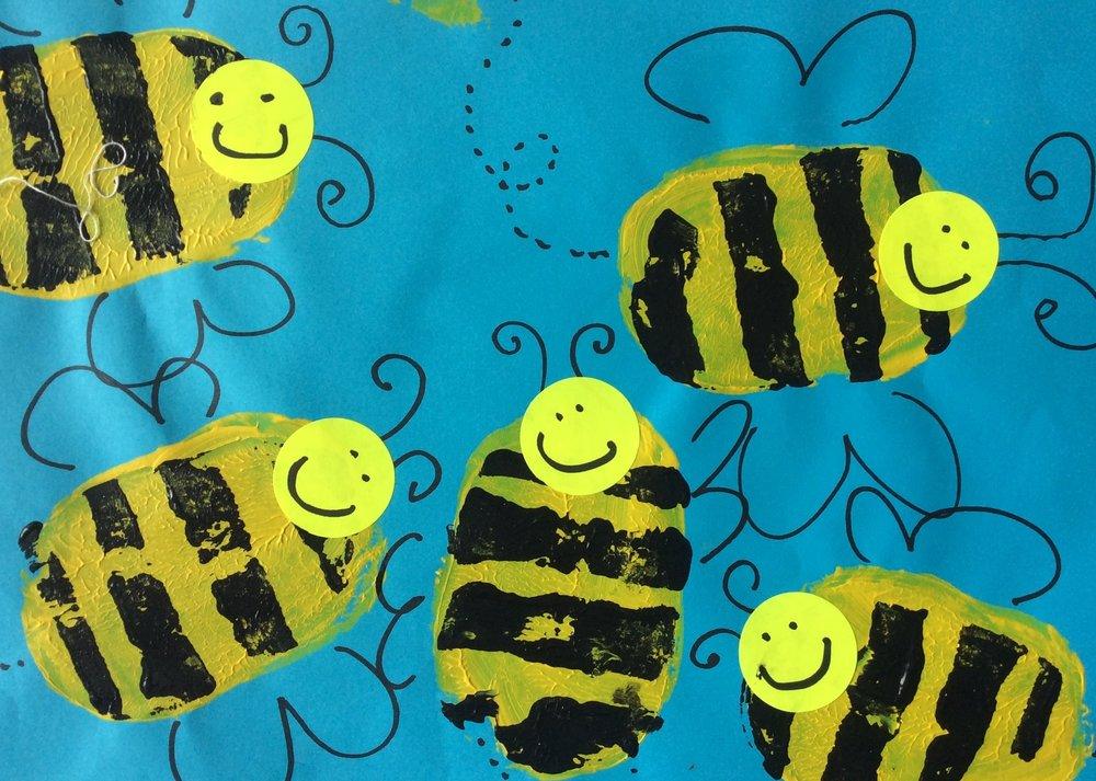 veg print bees.JPG