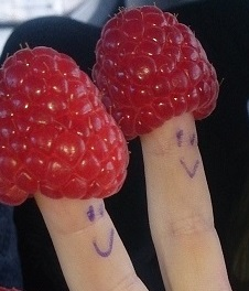 cropped two raspberry finger hats.jpg