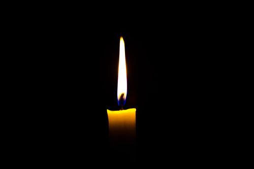 Candle burning bright