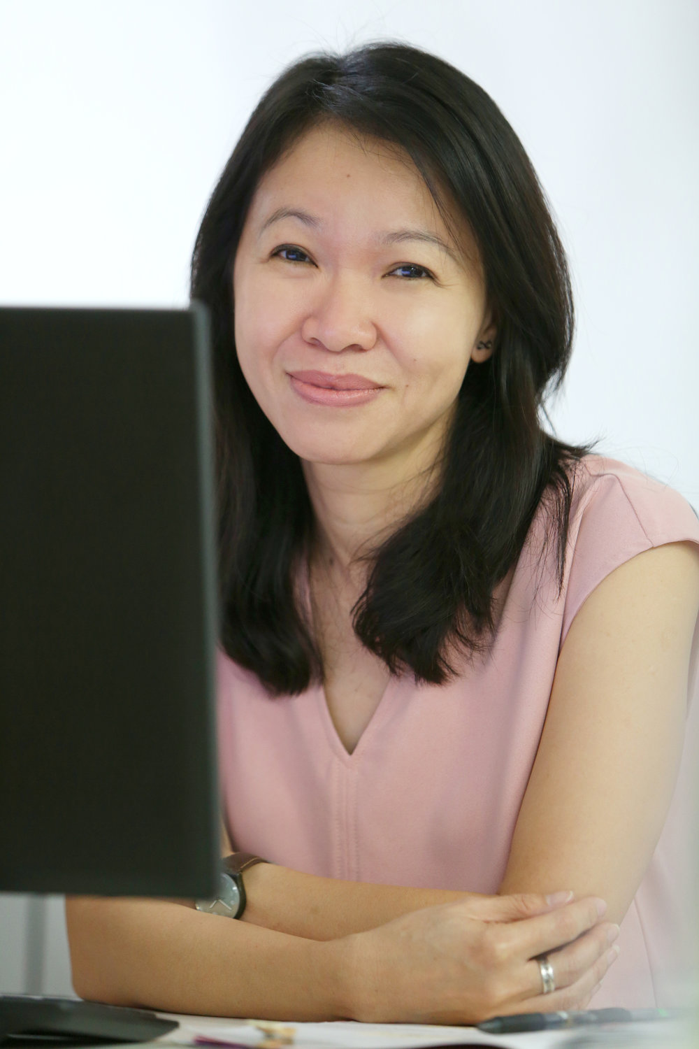 Kit Cheong Kit is highly efficient and her organizational skills ensure that Hils runs smoothly.