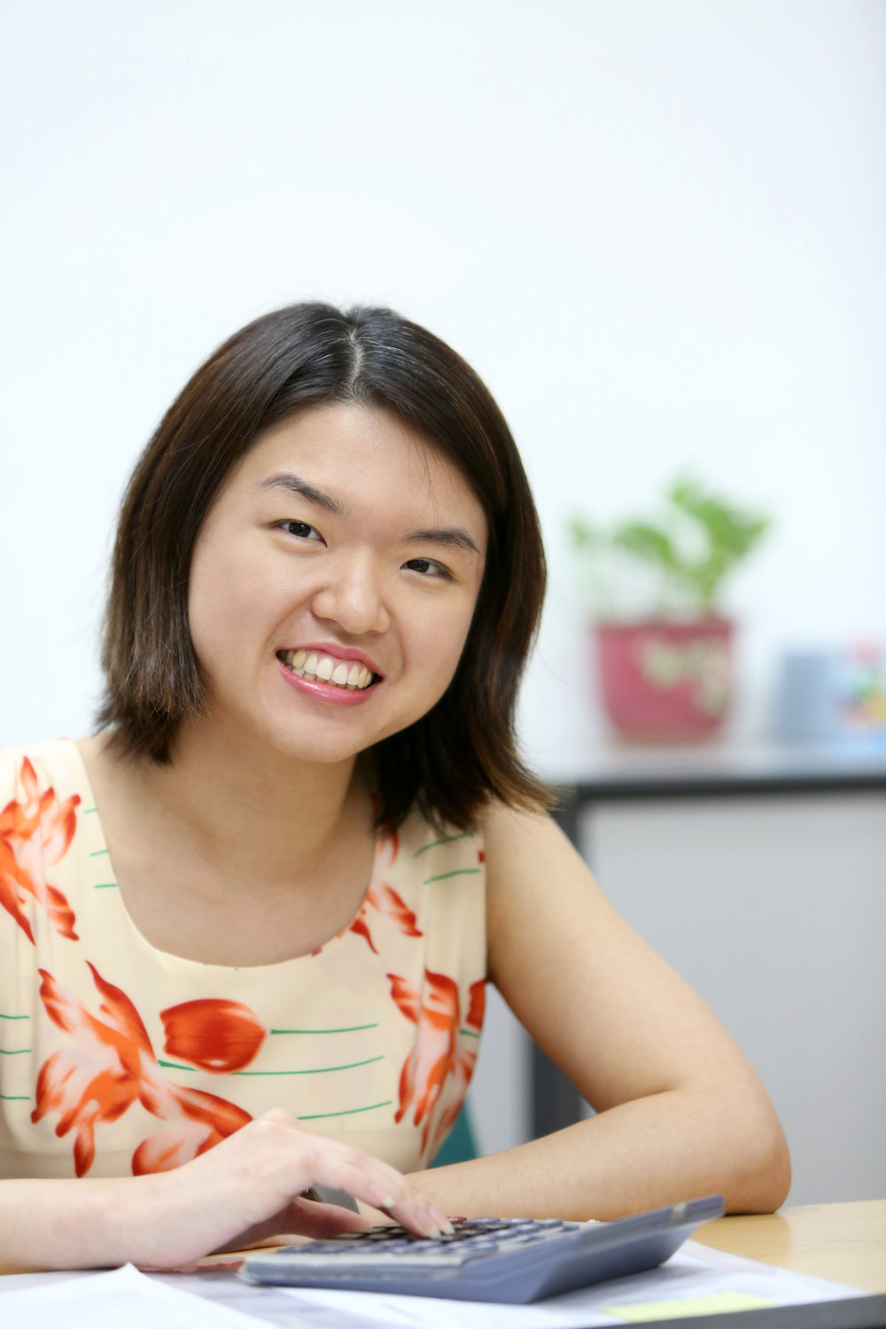 Livia Oh  Livia is our accountant. She is efficient, approachable, and always smiling.