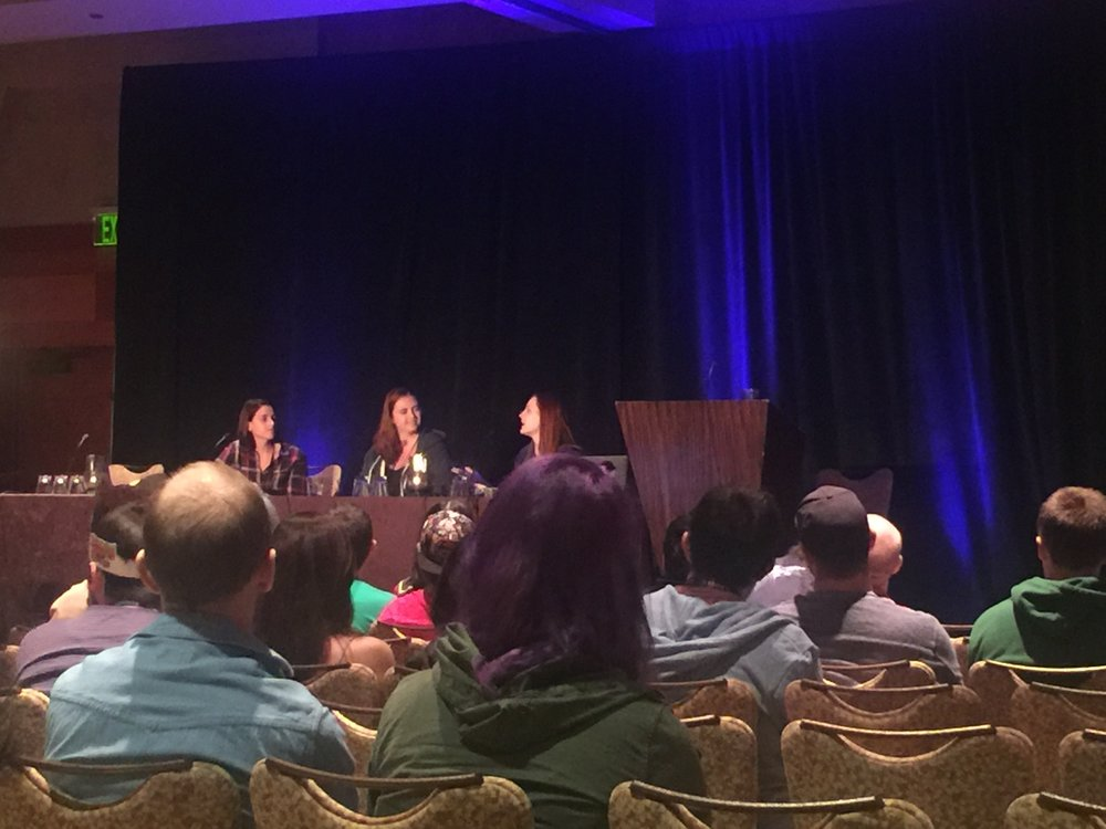 The Designing and Developing Games for an Inclusive Community Panel.
