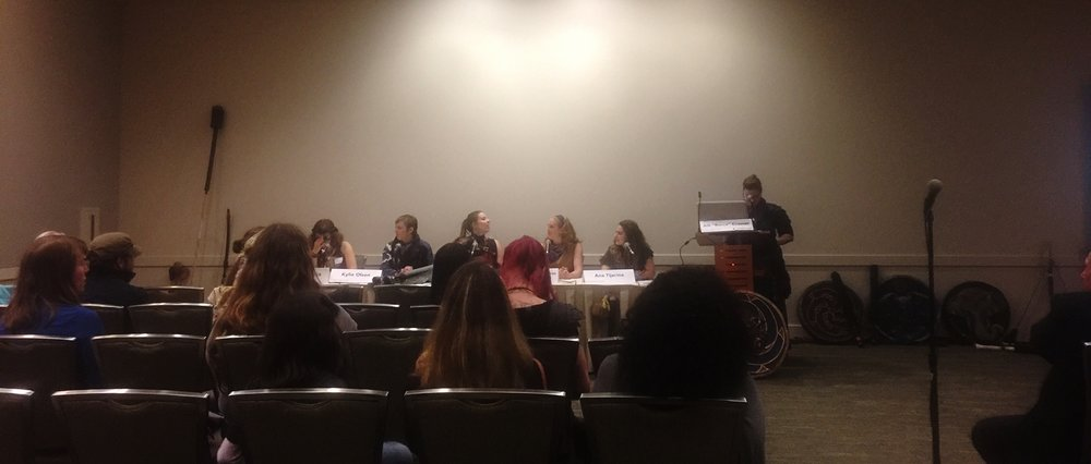The Fight Like A Girl Panel