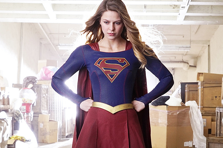 I just started watching Supergirl and I'm in love.