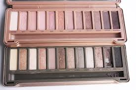 The Naked 3 Palette is on top.