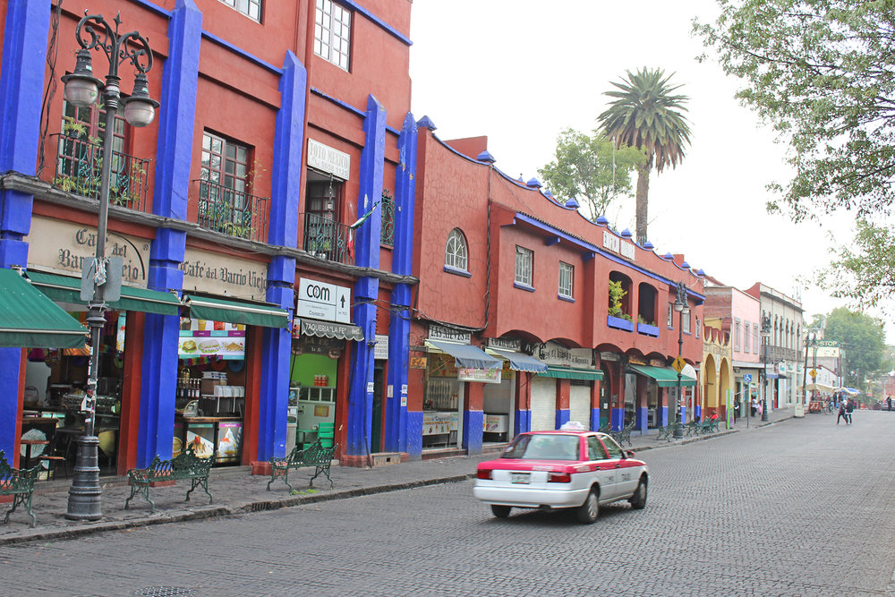 Streets of Coyoacán