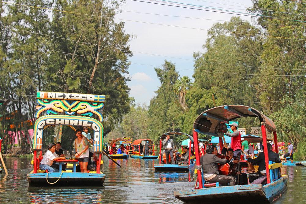 Waterways of Xochimilco