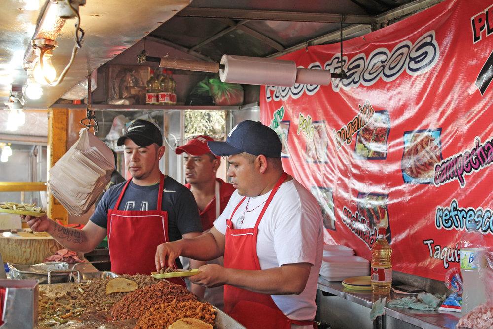 Street food in Tlalpan