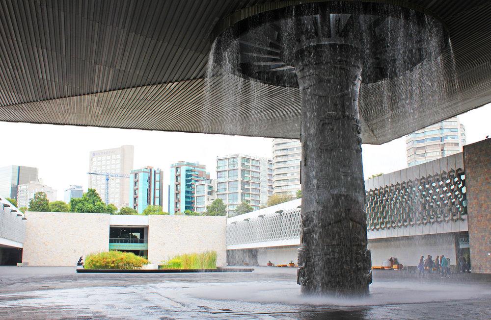 El Paraguas (the Umbrella) at the Museo Nacional de Antropología