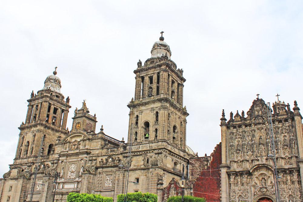 Catedral Metropolitana de la Asunción de la Santísima Virgen María a los cielos, the largest cathedral in the Americas