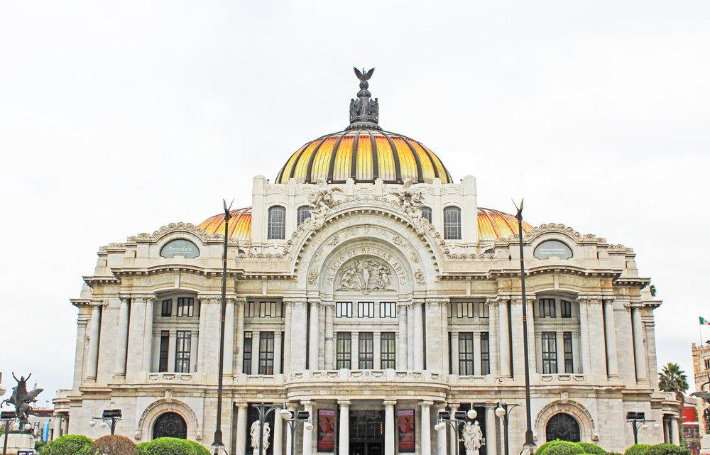 Palacio de Bellas Artes(Palace of Fine Arts)